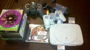 Play station 1 and games