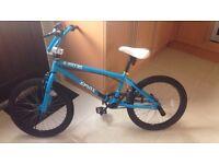 bmx bike bicycle kids stunt bike x rated spine