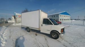 gmc savana cube 2002 roues simple