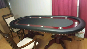 Professional poker/dinning table