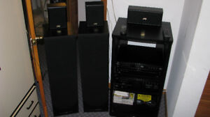 JVC Stereo/Home Theater Center