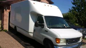 2004 E450 6.0 powerstroke diesel. 16' cargo