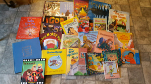 Huge lot of kid books some hard cover some soft