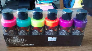 Created Airbrush Paints