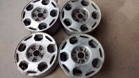 15' Aluminum Rims - Set Of 4  5 Holes x 114.5mm B.C. Centre hole
