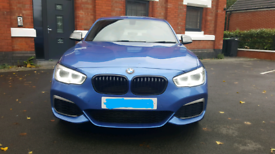 BMW M135I LCI FACELIFT AUTO 16PLATE 5 DOOR BLUE ONLY 28K 320BHP CAT S