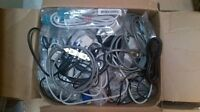 Assorted computer cables