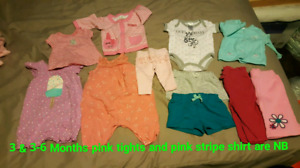Baby girls clothes lot