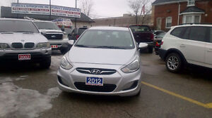 2012 Hyundai Accent GLS Sedan..beautiful new ride .it feels good