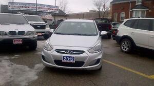 2012 Hyundai Accent GLS Sedan..beautiful new ride .it feels good