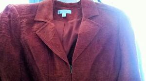 NEW - Red Orange Lined Blazer  --- Size 14 Regina Regina Area image 4