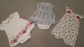 Clothes bundle for a baby girl size 0-3 months