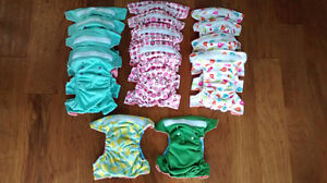 Handmade all-in-one cloth diapers - NEW