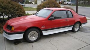 1986 Ford Thunderbird Turbo Coupe Coupe (2 door)