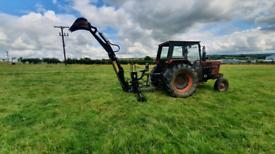 Tractor three point linkage danelander rear digger 3 buckets