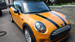 2015 MINI COOPER 2 DOOR HARDTOP with MANUAL TRANSMISSION