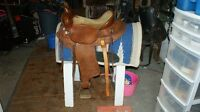Western Raw Hide and 3 Wintec saddles