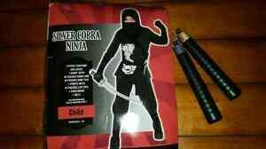 Silver Cobra Ninja Halloween Costume  St. John's Newfoundland image 1