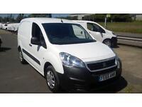 Peugeot Partner 850 1.6 Hdi 92 Professional Van DIESEL MANUAL WHITE (2015)