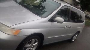 2001 Honda Odyssey Minivan, Van