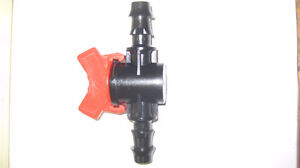 """1/2"""" PETCOCK VALVE FOR WATER FLOW CONTROL HYDROPONIC GARDENS"""