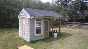 Mobile chicken coop -fire sale