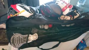 Lacross équipement complet de tres bonne calitées
