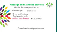 Massage for females only  (mobile)