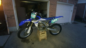 2017 yz 450f  11 hrs total