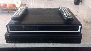 2 Shaw PVR Boxes with remotes! Great condition.