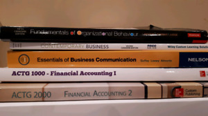 Business Administration NSCC  semester 1 textbooks for sale.