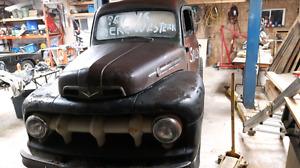 1951 ford mercury half to hot rod project or trade