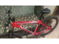 Specialized hardrock hardtail mountain bike; still in brand new condition