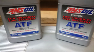 2 Quarts of Full Synthetic Amsoil Low Viscosity ATF