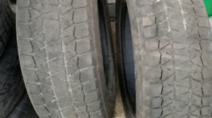 Two 215/65r17 Bridgestone