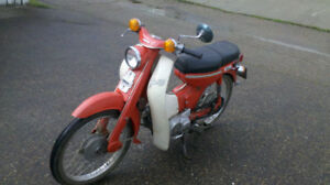 1971 Yamaha deluxe 75 scooter
