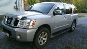 Nissan Armada 5.8L v8 full size suv 3rd row seating