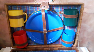 New Picnic set with basket