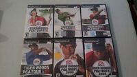 8 Tiger Woods Playstation 2 games