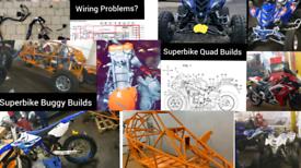 Quad bike superbike road legal buggy mechanic polaris rzr yamaha yxz