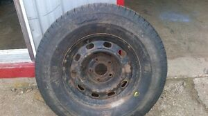 Dodge Truck tire and rim