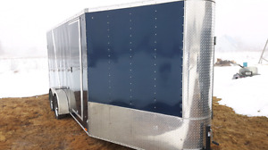 Inclosed 22 ft tandem  axle custom cargo Trailer