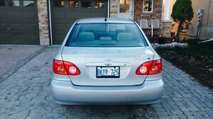 2005 TOYOTA COROLLA with 4 Extra Winter Tires & More! Kitchener / Waterloo Kitchener Area image 8