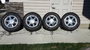 245 65 17 Winter Tires and Envoy Rims