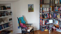 Bright & charming sublet apartment in the Glebe(downtown) Ottawa