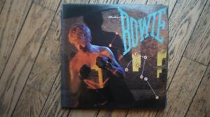 DAVID BOWIE LET'S DANCE  VINYL LP RECORD ALBUM
