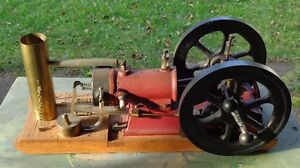 HANDCRAFTED GOULD SHAPELY MUIR WORKING MODEL ENGINE
