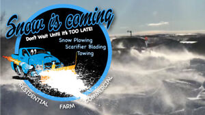 Snow Plowing and Scarifier Blading