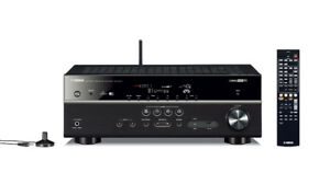 YAMAHA RXV577 B 7.2-Channel Wi-Fi Network AV Receiver