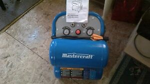 mastercraft 5 gallon compressor manual